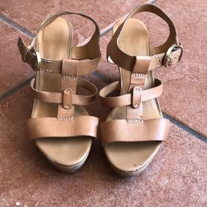 FRANKO SARTO LEATHER SANDAL SIZE 7